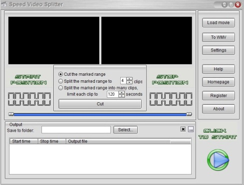 Speed Video Splitter v4.3.43
